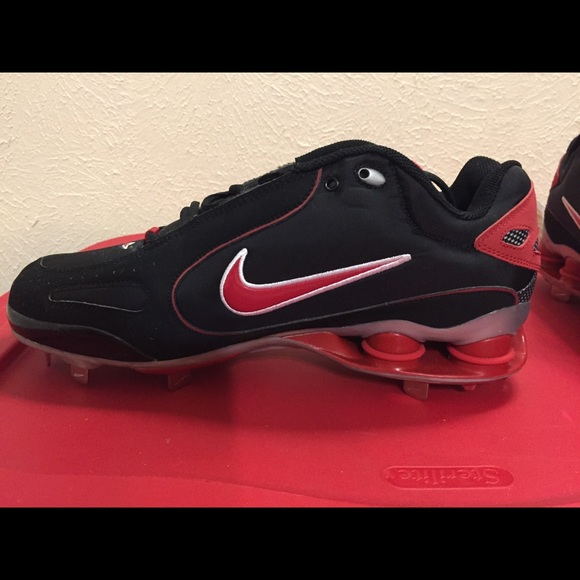 uk availability 55665 fabcb Nike Shox metal baseball cleats (NWOT). M 5ab056f3fcdc3119d76b9d8a
